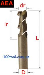 AEA - двухзаходные для алюминия