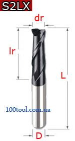 S2LX - твердосплавные двухзаходные