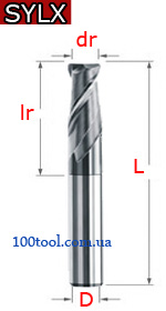 SYLX - твердосплавные скругленная кромка